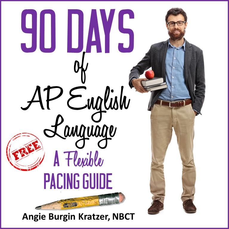 AP English Language pacing guide semester