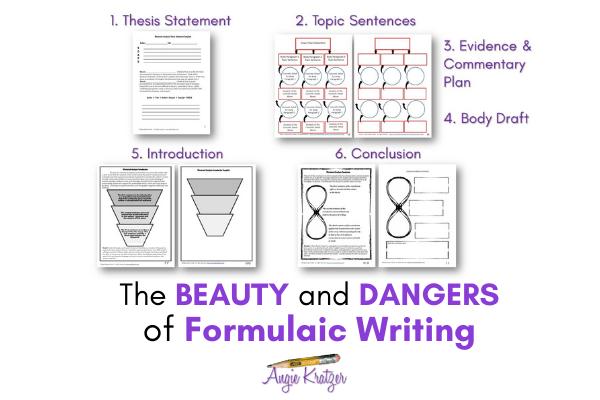 formulaic writing templates
