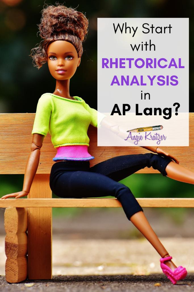 rhetorical analysis in AP English Language
