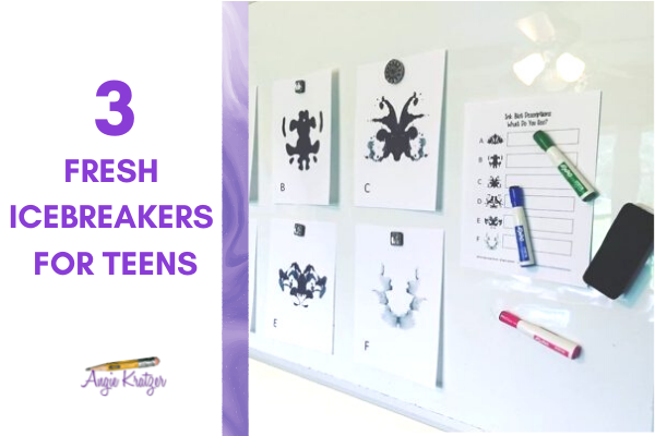 Middle and high school group icebreakers for teens.